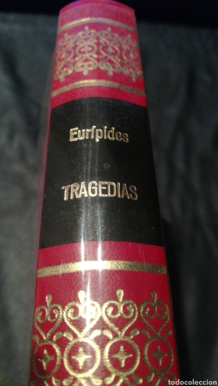 TRAGEDIAS - EURIPIDES - OBRAS INMORTALES - EDITORIAL BRUGUERA 1 EDICIÓN 1974 (Libros de Segunda Mano (posteriores a 1936) - Literatura - Narrativa - Otros)