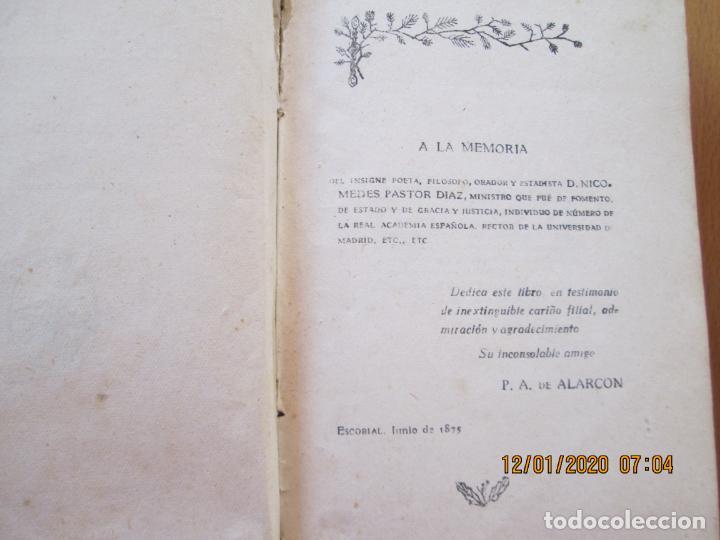 Libros de segunda mano: EL ESCANDALO D PEDRO ANTONIO DE ALARCON 1942 - LIBRERIA VICTORIANO SUAREZ - ENCUADERNADO - Foto 2 - 228510470