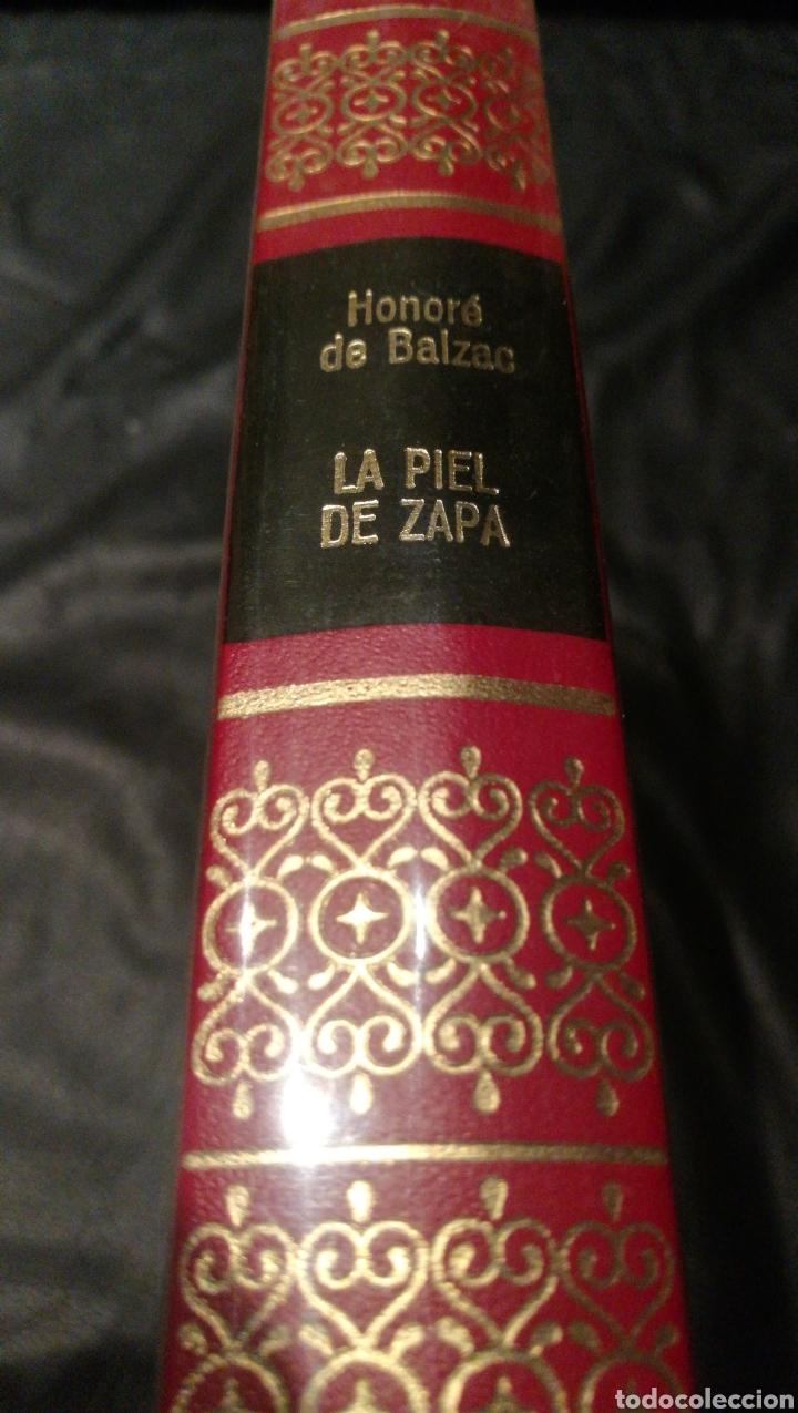 LA PIEL DE ZAPA - HONORE DE BALZAC - OBRAS INMORTALES, EDITORIAL BRUGUERA 1 EDICIÓN (Libros de Segunda Mano (posteriores a 1936) - Literatura - Narrativa - Otros)
