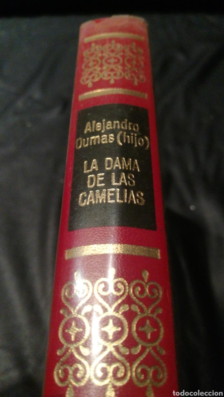 LA DAMA DE LAS CAMELIAS - ALEJANDRO OUMAS ( HIJO ) - OBRAS INMORTALES , EDITORIAL BRUGUERA , 1 EDICI (Libros de Segunda Mano (posteriores a 1936) - Literatura - Narrativa - Otros)