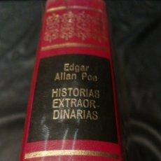 Libros de segunda mano: HISTORIAS EXTRAORDINARIAS - EDGAR ALLAN POE - OBRAS INMORTALES , EDITORIAL BRUGUERA , 1 EDICIÓN. Lote 228511075