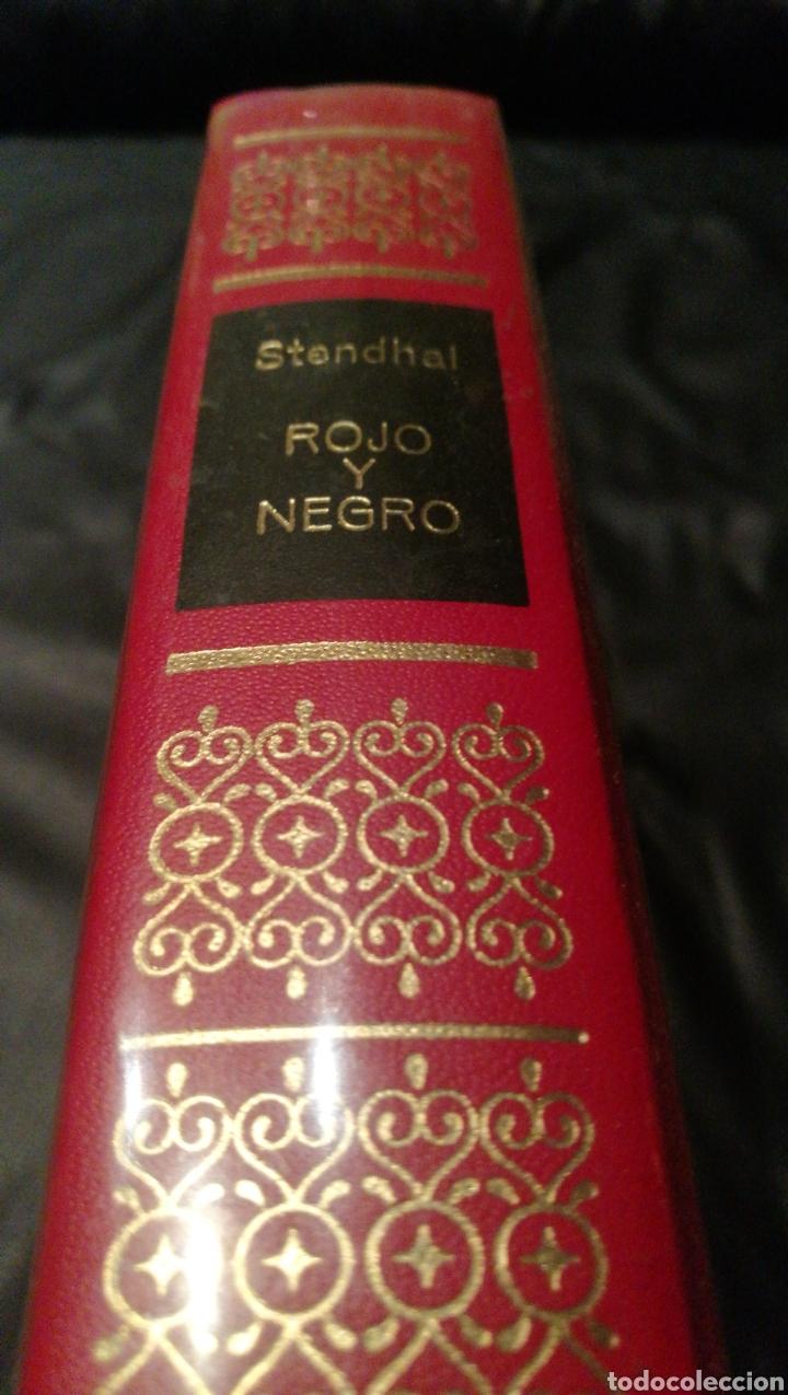 ROJO Y NEGRO - STENDHAL - OBRAS INMORTALES , EDITORIAL BRUGUERA , 1 EDICIÓN (Libros de Segunda Mano (posteriores a 1936) - Literatura - Narrativa - Otros)