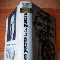 Libros de segunda mano: LOS PERROS DE LA GUERRA. FREDERICK FORSYTH. PLAZA & JANES, 1975.. Lote 228545010