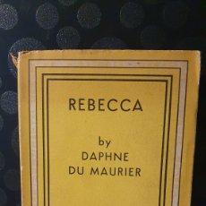 Libros de segunda mano: REBECCA/ BY DAPHNE DU MAURIER/ THE ALBATROSS/ MCMXLVII/ IMPRIME EN ITALIA /AÑO 1947/(REF.LIBROS 21). Lote 228594715