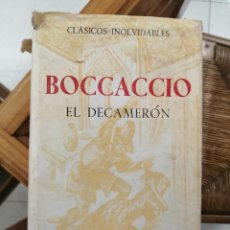 Libros de segunda mano: EL DECAMERÓN. BOCACCIO. EDITORIAL ATENEO.. Lote 228672856
