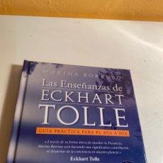 Libros de segunda mano: LAS ENSEÑANZAS DE ECKHART TOLLE. Lote 228755490