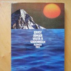 Libros de segunda mano: ERNST JUNGER VISITA A GODENHOLM. Lote 229124800