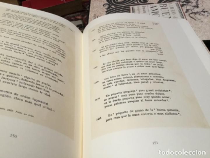 Libros de segunda mano: Libro del buen amor, edicion facsímil por espasa numerado - Foto 3 - 230111335
