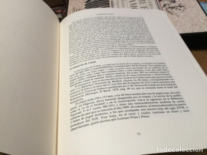 Libros de segunda mano: Libro del buen amor, edicion facsímil por espasa numerado - Foto 4 - 230111335