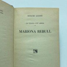 Libros de segunda mano: IGNACIO AGUSTÍ. MARIONA REBULL. 1944. Lote 230162380