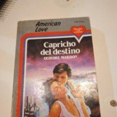Libros de segunda mano: G-60 LIBRO CAPRICHO DEL DESTINO DEIRDRE MARDON. Lote 230291015