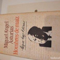 Libri di seconda mano: G-60 LIBRO CIRCULO DE LECTORES MIGUEL ANGEL ASTURIAS HOMBRES DE MAIZ. Lote 230292115