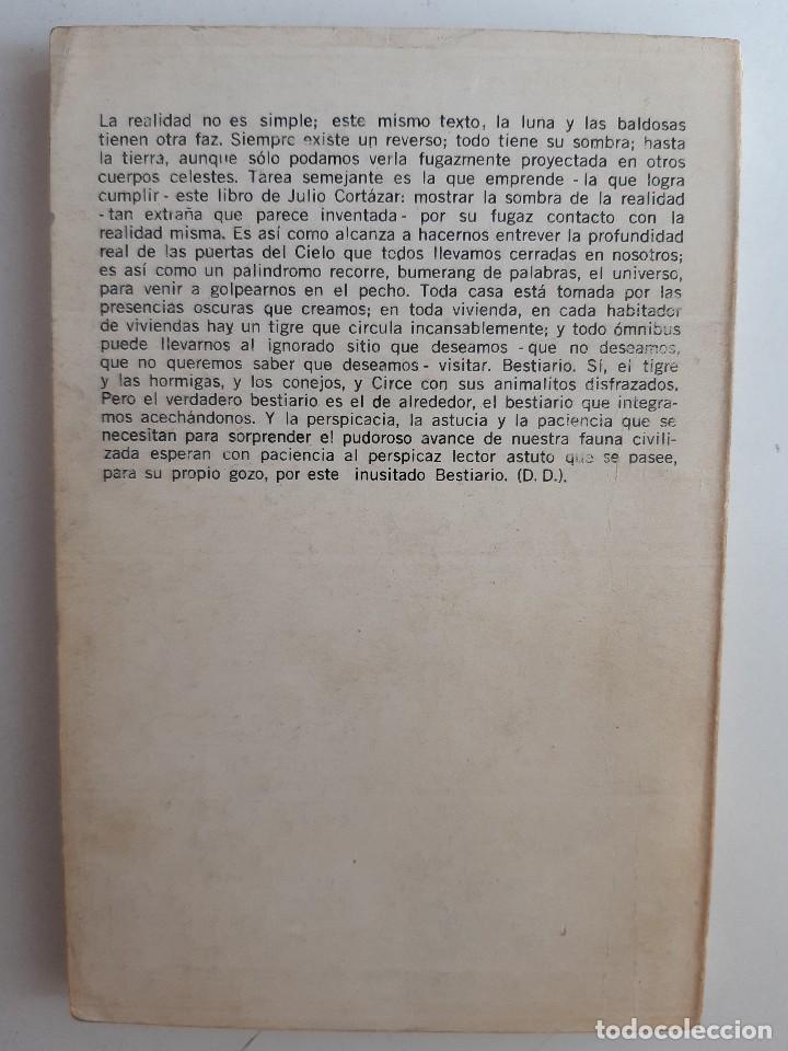 Libros de segunda mano: BESTIARIO Julio Cortazar Editado en Argentina 1972 - Foto 3 - 230617520