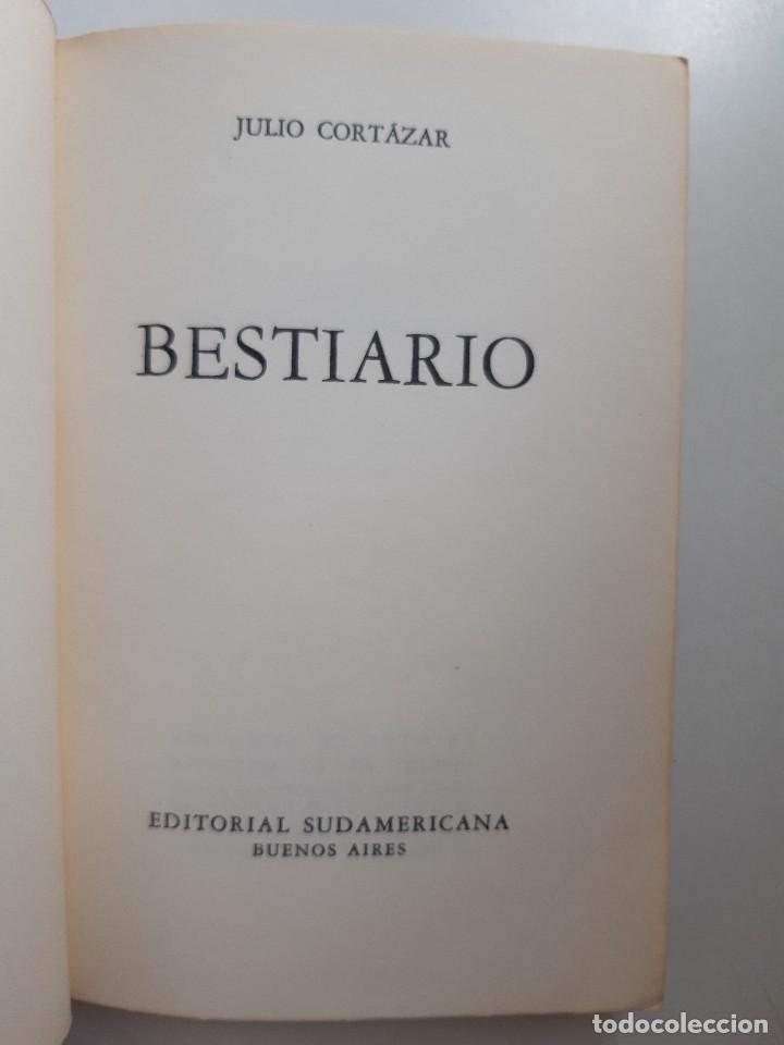 Libros de segunda mano: BESTIARIO Julio Cortazar Editado en Argentina 1972 - Foto 8 - 230617520