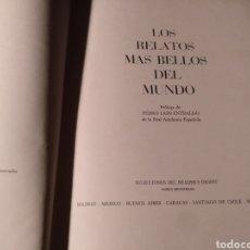 Libros de segunda mano: LOS RELATOS MÁS BELLOS DEL MUNDO. Lote 230792760