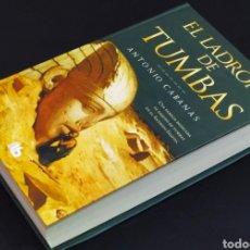 Libros de segunda mano: EL LADRÓN DE TUMBAS; ANTONIO CABANAS.. Lote 230906970