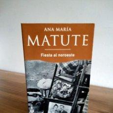 Libros de segunda mano: FIESTA AL NOROESTE. MATUTE ANA MARIA. PLAZA & JANES. 1 ª ED. 1999. Lote 230926595