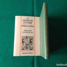 Libros de segunda mano: LA CONSTRUCCIÓN DE LA TORRE - WILLIAM GOLDING - EDHASA/SUDAMERICANA - 1ª EDICIÓN 1983. Lote 230967555