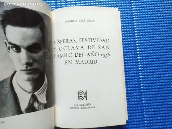 Libros de segunda mano: SAN CAMILO 1936 CAMILO JOSE CELA - Foto 2 - 231647765