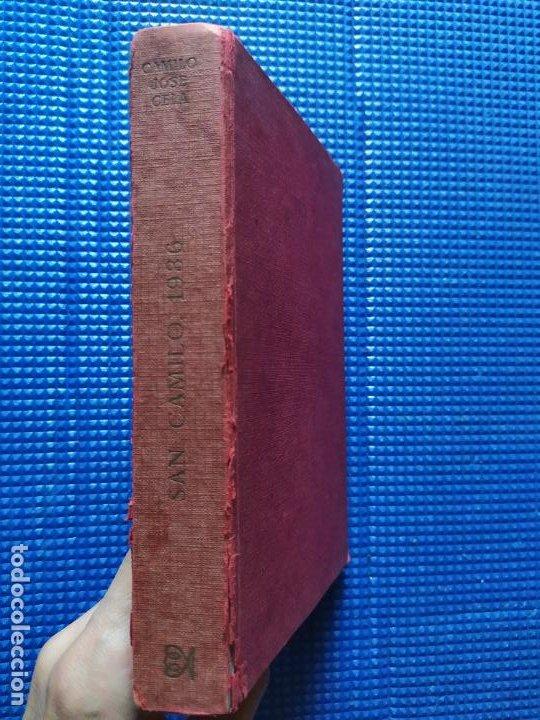 SAN CAMILO 1936 CAMILO JOSE CELA (Libros de Segunda Mano (posteriores a 1936) - Literatura - Narrativa - Otros)