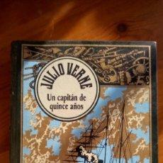 Libros de segunda mano: CAPITAN DE QUINCE AÑOS. JULIO VERNE. EDIT.: RBA.. Lote 231962145