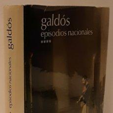 Libros de segunda mano: PÉREZ GALDÓS, BENITO. TOMO IV EPISODIOS NACIONALES. ED. AGUILAR, 1974. CONT. SERIE 4ª, FINAL Y CENSO. Lote 232039130