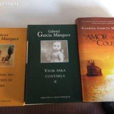Libros de segunda mano: LOTE DE GABRIEL GARCÍA MÁRQUEZ. Lote 232099030