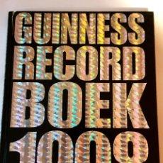 Libros de segunda mano: LIBRO GUINNESS RECORD BOEK 1998. Lote 232512055