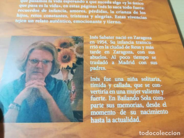 Libros de segunda mano: BAILANDO SOLA / INES SABATER OCTAVIO / BUBOK / ESQ903 - Foto 4 - 232582775