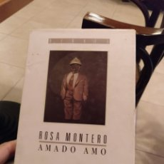 Libros de segunda mano: ROSA MONTERO. AMADO AMO. DEBATE 1988 1A EDICION. Lote 232583890