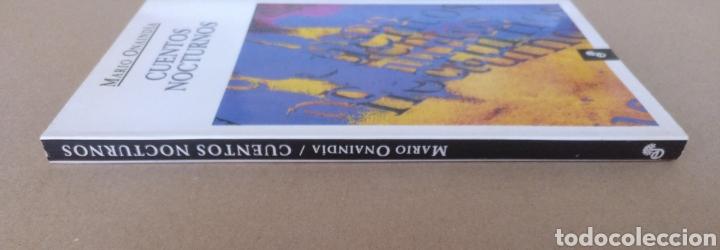 Libros de segunda mano: Cuentos nocturnos. Mario Onaindía. Edhasa. Libro - Foto 8 - 232977740