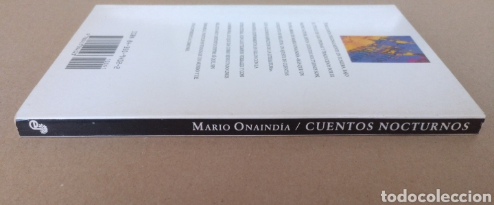 Libros de segunda mano: Cuentos nocturnos. Mario Onaindía. Edhasa. Libro - Foto 9 - 232977740