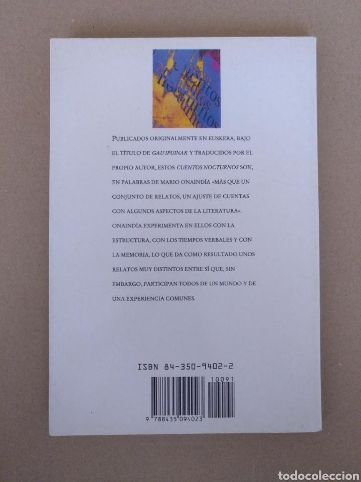Libros de segunda mano: Cuentos nocturnos. Mario Onaindía. Edhasa. Libro - Foto 10 - 232977740