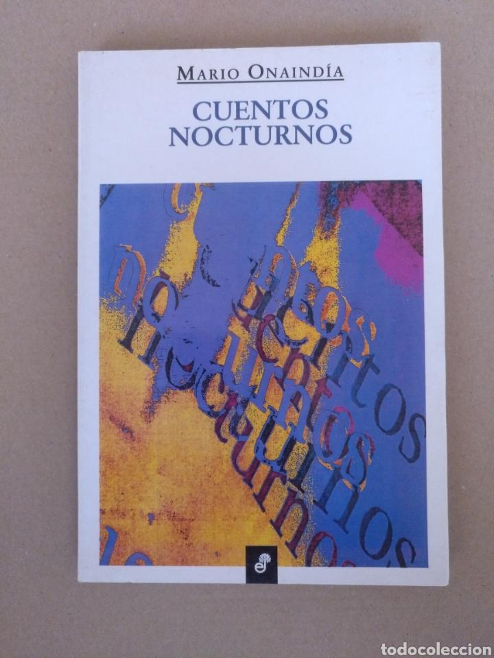 CUENTOS NOCTURNOS. MARIO ONAINDÍA. EDHASA. LIBRO (Libros de Segunda Mano (posteriores a 1936) - Literatura - Narrativa - Otros)
