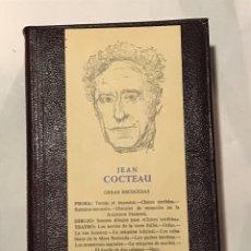 Libri di seconda mano: JEAN COCTEAU. OBRAS ESCOGIDAS. AGUILAR. Lote 233016372