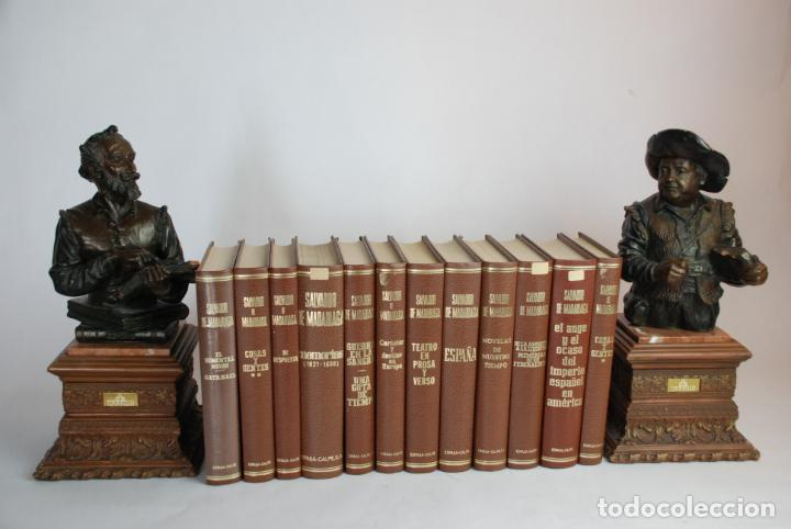 SALVADOR DE MADARIAGA. ENSAYOS, TEATRO, MEMORIAS. OBRA COMPLETA.12 TOMOS. ESPASA CALPE. MADRID.1983. (Libros de Segunda Mano (posteriores a 1936) - Literatura - Narrativa - Otros)
