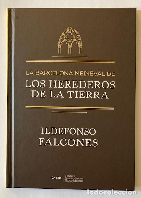 LA BARCELONA MEDIEVAL DE LOS HEREDEROS DE LA TIERRA - ILDEFONSO FALCONES (Libros de Segunda Mano (posteriores a 1936) - Literatura - Narrativa - Otros)