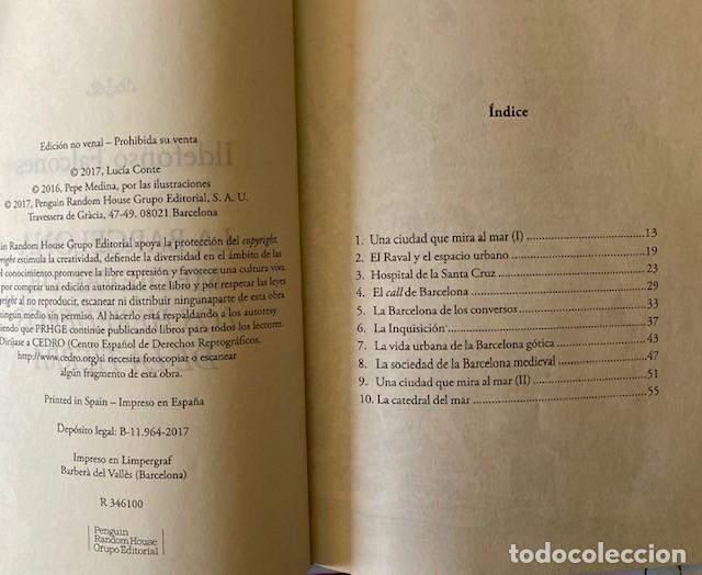Libros de segunda mano: LA BARCELONA MEDIEVAL DE LOS HEREDEROS DE LA TIERRA - ILDEFONSO FALCONES - Foto 2 - 233578535
