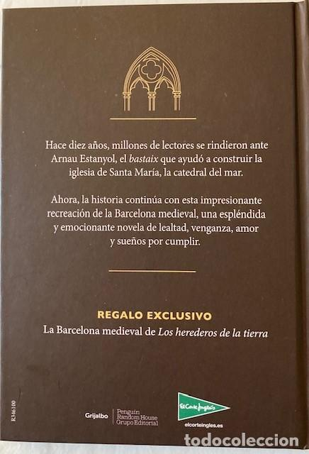 Libros de segunda mano: LA BARCELONA MEDIEVAL DE LOS HEREDEROS DE LA TIERRA - ILDEFONSO FALCONES - Foto 4 - 233578535