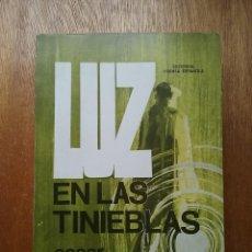 Livres d'occasion: LUZ EN LAS TINIEBLAS, CESAR RUBIN, EDITORIAL PRENSA ESPAÑOLA, 1972. Lote 233923200