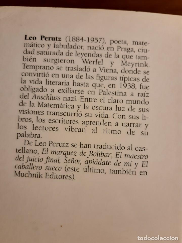 Libros de segunda mano: De noche bajo el puente de piedra Leo Perutz - Foto 4 - 233946085