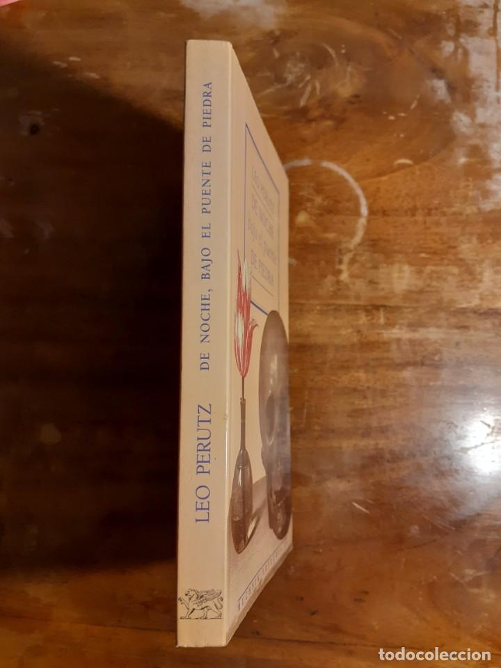 Libros de segunda mano: De noche bajo el puente de piedra Leo Perutz - Foto 6 - 233946085