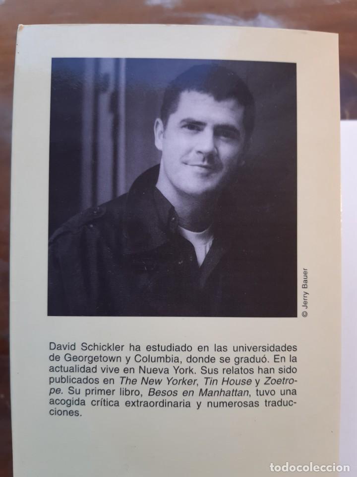 Libros de segunda mano: Besos en Manhattan David Schickler - Foto 4 - 234034940