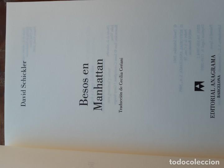 Libros de segunda mano: Besos en Manhattan David Schickler - Foto 5 - 234034940