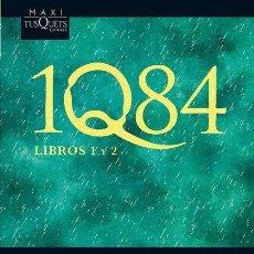 Libros de segunda mano: 1Q84. LIBROS 1 Y 2. - MURAKAMI, HARUKI.. Lote 234086210