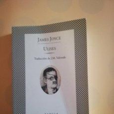 Libros de segunda mano: ULISES. JAMES JOYCE. TRADUCCION DE J. M. VALVERDE. EDITORIAL LUMEN TUSQUET. 1994.. Lote 234181790