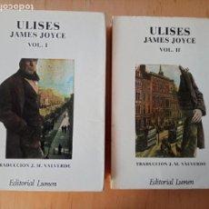Libros de segunda mano: JAMES JOYCE ULISES (1A EDICIÓN 1976). Lote 234400330