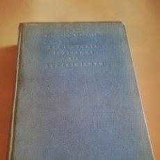 Libros de segunda mano: LOS PINTORES ITALIANOS DEL RENACIMIENTO. BERNARDO BERENSON. PRIMERA EDICION. 1944.. Lote 234688980
