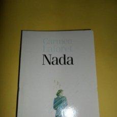 Libros de segunda mano: NADA, CARMEN LAFORET, ED. EL PAÍS. Lote 234746900