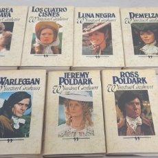 Libros de segunda mano: CIRCULO DE LECTORES WINSTON GRAHAM 7 TITULOS. Lote 234768250